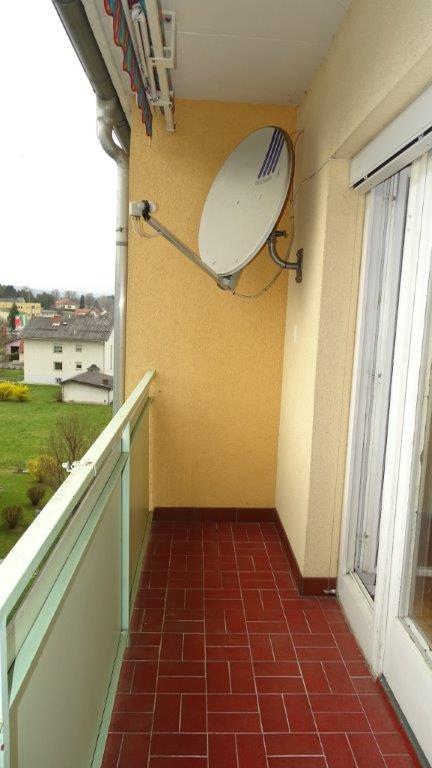 Objektbild 3 zimmer wohnung mit balkon im stadtzentrum
